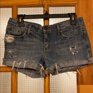 Abercrombie and Fitch Jean shorts, size 27